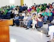 لاہور: صوبائی وزیر تحفظ ماحول محمد رضوان یونیورسٹی آف ویٹرنری اینڈ ..