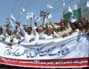 ملتان: پاسبان رکشہ، ٹیکسی ڈرائیورز یونین کے زیر اہتمام مزدوروں کے عالمی ..