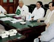 لاہور: وزیر مال پنجاب محمد انور زرعی انک ٹیکس کے حوالے سے اعلیٰ سطحی ..