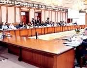 اسلام آباد: وزیر اعظم عمران خا ن کابینہ اجلاس کی صدارت کر رہے ہیں۔