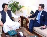 اسلام آباد:وزیر اعظم کے معاون خصوصی برائے امور نوجوانان عثمان ڈار سے ..