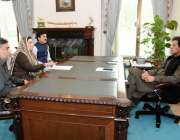 اسلام آباد: وزیر اعظم عمران خان سے معاون خصوصی برائے اطلاعات فردوس ..