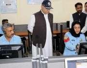 اسلام آباد: وفاقی وزیر داخلہ اعجاز شاہ کے دورے سے ایک روز قبل آئی جی ..