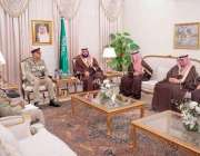اسلام آباد: آرمی چیف جنرل قمر جاوید باجوہ ، سعودی ولی عہد محمد بن سلمان ..
