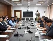 اسلام آباد: وفاقی وزیر منصوبہ بندی، ترقی و اصلاحات مخدوم خسرو بختیار ..