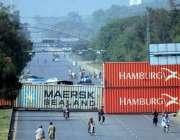 اسلام آباد:وفاقی دارالحکومت میں جے یو آئی (ف) کے آزادی مارچ سے قبل اسلام ..