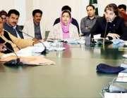 لاہور: وزیر مملکت برائے پارلیمانی امور پرائم منسٹر پورٹل سیل کے انچارج ..