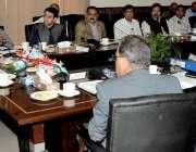 راولپنڈی: چیف سیکرٹری پنجاب یوسف نسیم کھوکھر راولپنڈی ڈویژن میں جاری ..