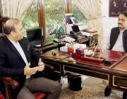 لاہور: وزیر اعلیٰ پنجاب سردار عثمان بزدار سے بینک آف پنجاب کے نئے صدر ..