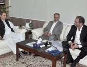 اسلام آباد: چیئرمین بورڈ آف انویسٹمنٹ (بی او آئی) زبیر گیلانی سی ای او ..