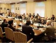 پشاور: وزیر اعلیٰ خیبر پختونخوا محمد خان قبائلی ضلعوں میں اصلاحاتی ..