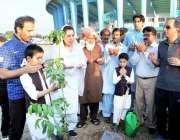 اسلام آباد: وفاقی وزیر بین الصوبائی رابطہ ڈاکٹر فہمیدہ مرزااور مینجنگ ..