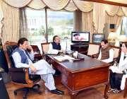 اسلام آباد: وزیر اعظم عمران خان سے ایم این اے مسز نورین فاروق ابراہیم ..