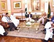 لاہور: لاہور چیمبر آف کامرس کے صدر الماس حیدر اور تاجر برادری گورنر ..