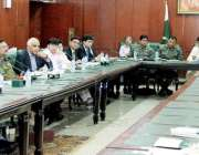 لاہور: صوبائی وزر قانون و بلدیات راجہ بشارت سول سیکرٹریٹ میں لاء اینڈ ..