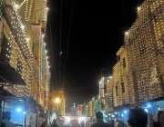 راولپنڈی: عید میلادالنبی کے سلسے میں شہریوں نے اپنی گلیوں کو برقی قمقموں ..