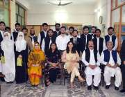 پشاور۔ فرنٹیئر لا کالج میں ای سی جی ڈبلیو جی سرٹیفکیٹ کی تقسیم کی تقریب ..