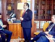 لاہور: صوبائی وزیر سکولز ایجوکیشن مراد راس لندن میں پاکستان طالبعلموں ..