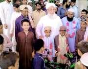 کراچی: جامعہ بیت القرآن مدنی مسجد کے مہتمم اور جمعیت علماء اسلام کے ..