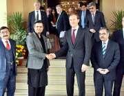 اسلام آباد: وفاقی وزیر برائے معاشی امور ڈویژن ، محمد حمد اظہر نے بین ..