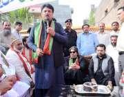 لاہور: پاکستان تحریک انصاف کے مرکزی رہنما جمشید اقبال چیمہ این اے127میں ..