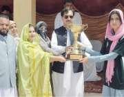 پشاور: ڈپٹی کمشنر ضلع خیبر محمود اسلم قبائلی اضلاع سپورٹس فیسٹیول خواتین ..