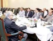 لاہور: وزیر اعلیٰ پنجاب سردار عثمان بزدار پولیس سے متعلق اعلیٰ سطح ..