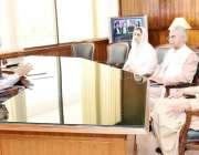 اسلام آباد: صدر مملکت ڈاکٹر عارف علوی سے ڈاکٹر ظفر مرزا، چیئرمین قومی ..