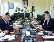 اسلام آباد: وزیر اعظم کے معاون خصوصی برائے کامرس، ٹیکسٹائل انڈسٹری، ..