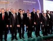 استنبول: ترک صدر رجب طیب اردوان کا جہاجرت سے متعلق چھٹی وزارتی کانفرنس ..