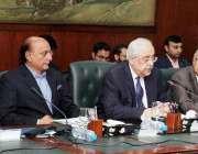 لاہور: اٹارنی جنرل آف پاکستان انور منصور خان سول سیکرٹریٹ میں بین الاقوامی ..