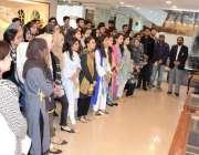 اسلام آباد: پارلیمنٹ ہاؤس میں نیشنل یونیورسٹی آف سائنس اینڈ ٹکنالوجی ..