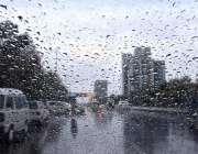 اسلام آباد: وفاقی دارالحکومت میں ہونیوالی بارش کا خوبصورت منظر۔