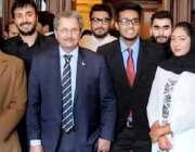لاہور: صوبائی وزیر سکولز ایجوکیشن مراد راس کا لندن میں وفاقی وزیر تعلیم ..