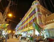حیدرآباد: افندی ٹاؤن میں عید میلاد النبی صلی اللہ علیہ وآلہ وسلم کی ..
