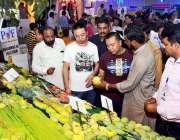 ملتان: مینگو ریسرچ انسٹیٹیوٹ کے زیر اہتمام تین روزہ مینگو فیسٹیول کے ..