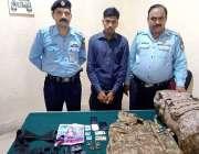 اسلام آباد: تھانہ سبزی منڈی پولیس کی کارروائی میں اپنے آپ کو حساس ادارے ..
