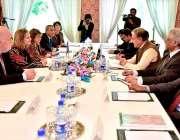 اسلام آباد: وزیرخارجہ شاہ محمود قریشی سے ورلڈ فوڈ پروگرام کی خصوصی ..