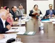 لاہور:صوبائی وزیرصحت پنجاب ڈاکٹر یاسمین راشد محکمہ سپیشلائزڈ ہیلتھ ..