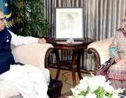 اسلام آباد: صدر مملکت ڈاکٹر عارف علوی سے کینیا کے لیے نامزد سفیر ثقلین ..