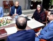 اسلام آباد: وفاقی وزیر دفاعی پیداوارز بیدہ جلال کونیشنل یونیورسٹی ..