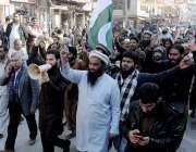 راولپنڈی: راجہ بازار میں حافظ عبدالرحمان کی قیادت میں پاک فوج سے اظہار ..