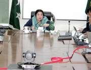 لاہور: صوبائی وزیر صحت ڈاکٹر یاسمین راشد پرائمری اینڈ سیکنڈری ہیلتھ ..