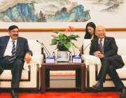بیجنگ: وزیر ریلوےشیخ رشیداحمد چین کے نیشنل ریل اتھارٹی کے ڈپٹی ایڈمینسٹریٹراین ..