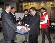 راولپنڈی: ڈسٹرکٹ بار ایسوسی ایشن کے زیر اہتمام وکلاء کو فرسٹ ایڈ کی ..