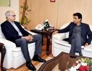 اسلام آباد: وفاقی وزیر برائے انفارمیشن ٹیکنالوجی اینڈ ٹیلی کمیونیکیشن ..