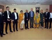 اسلام آباد: وفاقی وزیر برائے انسانی حقوق ڈاکٹر شیریں مزاری کا یورپین ..