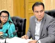 راولپنڈی: ڈپٹی کمشنر چوہدری محمد علی رندھاوا سرکاری محکموں میں معذور ..