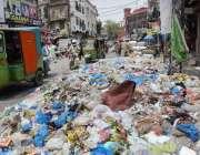راولپنڈی: اقبال روڈ پر پڑا کچرے کا ڈھیر وبائی امراض کا باعث بن رہا ہے، ..