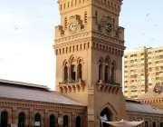 کراچی: تزئین و آرائش کے بعد ایمپرس مارکیٹ خوبصورت منظر پیش کررہی ہے۔